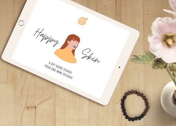 Ebook gratuit Happy skin sur la beauté bio