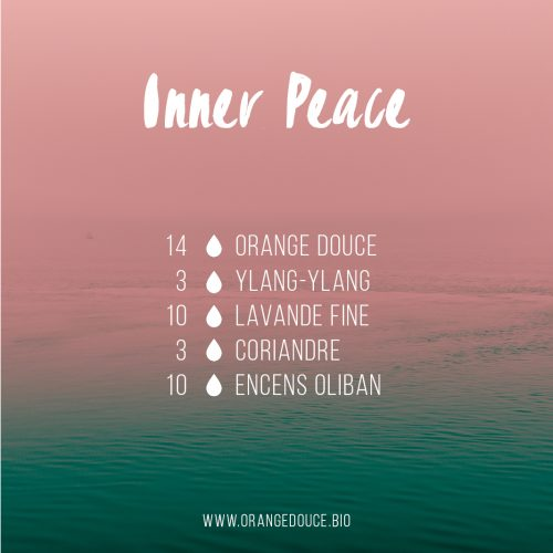 Inner Peace, synergie olfactive d'huiles essentielles